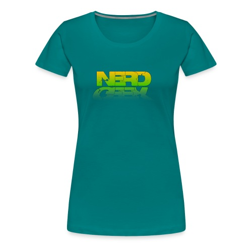 nerd geek - T-shirt Premium Femme
