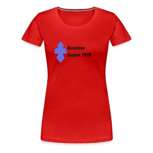 Koroisten Sarpiot - Naisten premium t-paita
