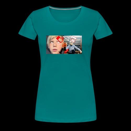 coolrockskingen # - Premium-T-shirt dam