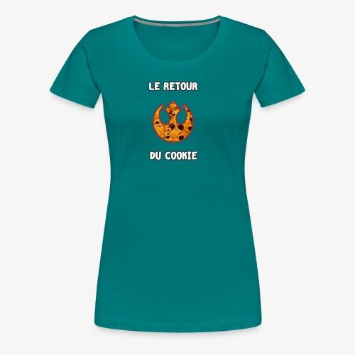 Le Retour du Cookie - T-shirt Premium Femme