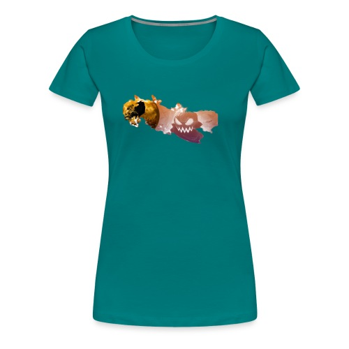 Noche De Halloween - Camiseta premium mujer