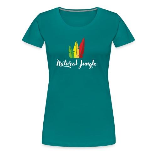 Natural Vibes - T-shirt Premium Femme
