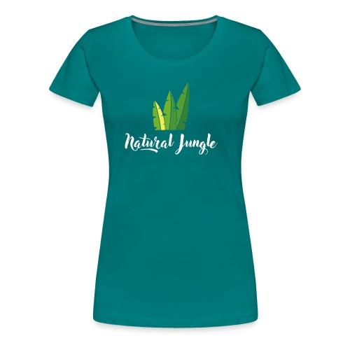 Natural Jungle - T-shirt Premium Femme