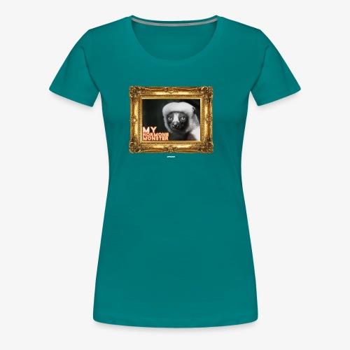 HORMONE MONSTER #01 - Frauen Premium T-Shirt