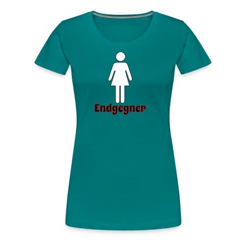 Endgegner für Männer - Frauen Premium T-Shirt