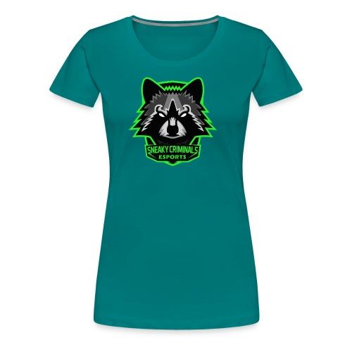 Sneaky Criminals eSports - T-shirt Premium Femme