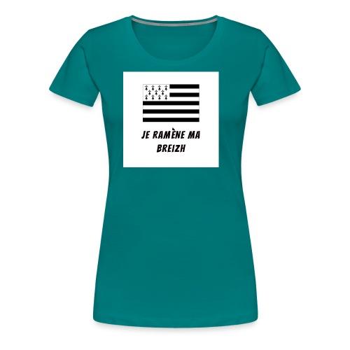 je ramene ma breizh - T-shirt Premium Femme