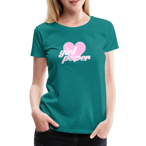 Girl Power Feminist - Camiseta premium mujer