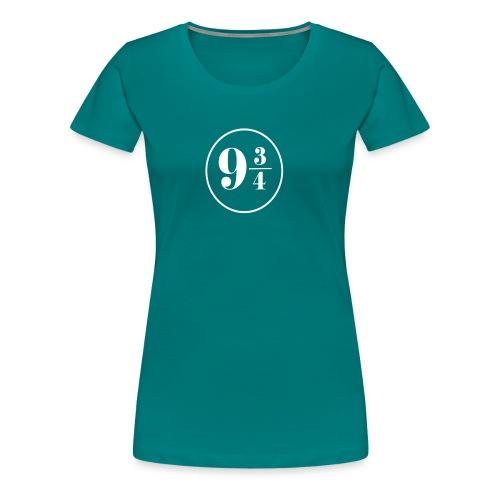 Harry Potterr Plataform 9 3/4 JK Rowling - Camiseta premium mujer