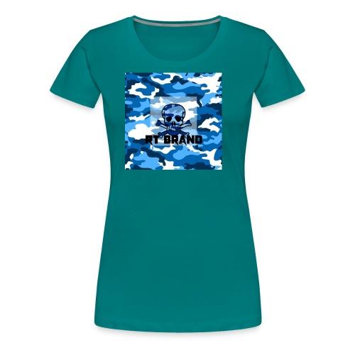 RT BRAND camo - Vrouwen Premium T-shirt