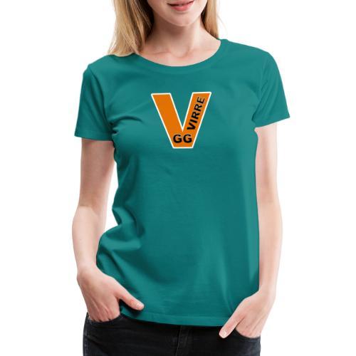 GG VIRRE white - Premium-T-shirt dam