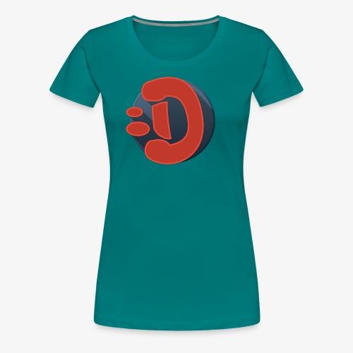 DR4C0_B0Y LOGO - T-shirt Premium Femme