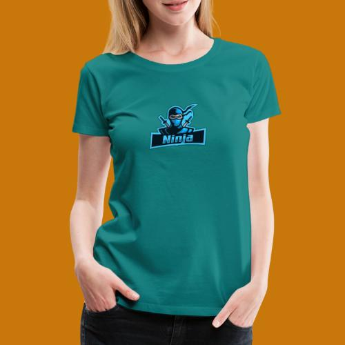 BlueNinja - Frauen Premium T-Shirt