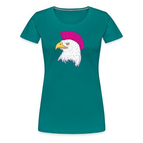 Hawk Punk Design - Camiseta premium mujer