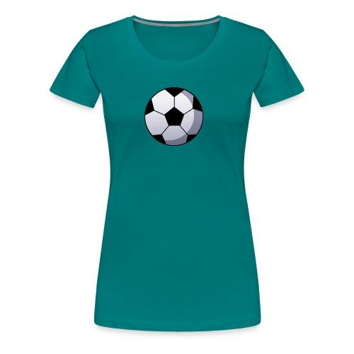 Soccer Ball - Vrouwen Premium T-shirt