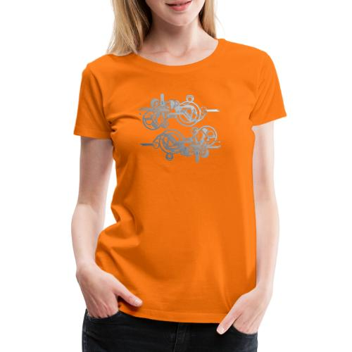 machine - Frauen Premium T-Shirt