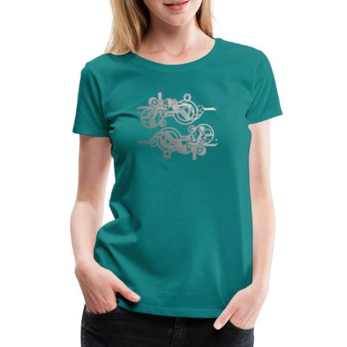 machine - Frauen Premium T-Shirt