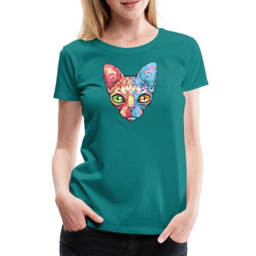EgyptianCat - Frauen Premium T-Shirt