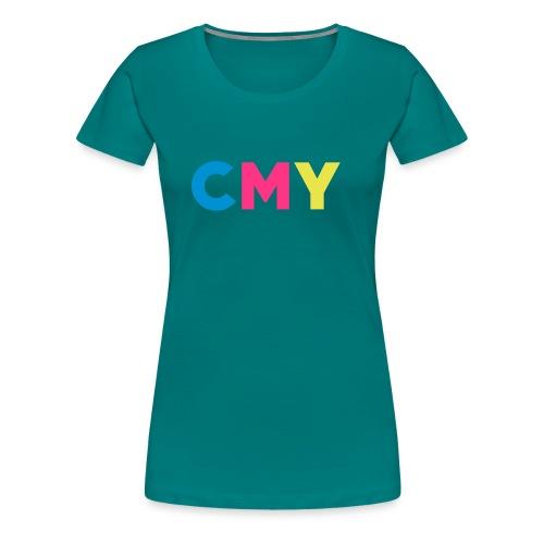 CMYK - Vrouwen Premium T-shirt