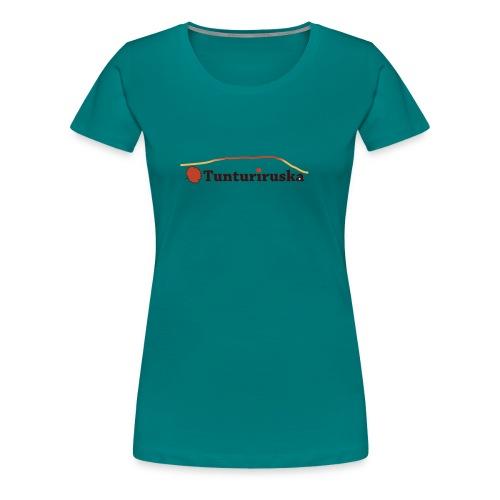 Tunturiruska - Naisten premium t-paita