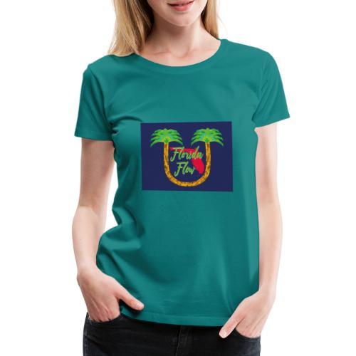 Florida Flow - Premium-T-shirt dam