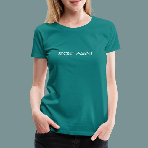 Secret agent - Vrouwen Premium T-shirt