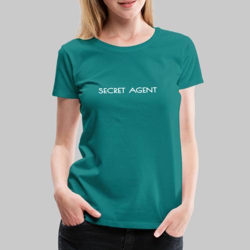 Secret agent - Women's Premium T-Shirt