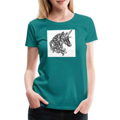 Unicorn - Frauen Premium T-Shirt