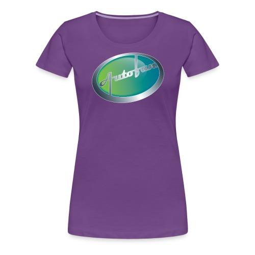Autofan groen - Vrouwen Premium T-shirt