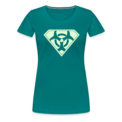 Super Biohazard - Premium-T-shirt dam