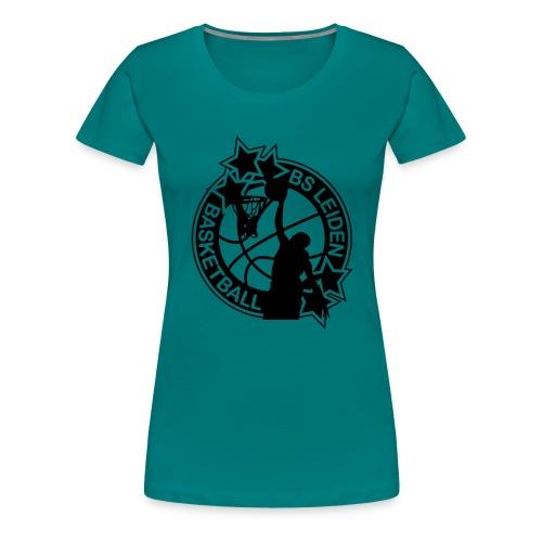 BSL logo BLK medium - Vrouwen Premium T-shirt