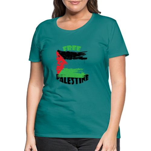 free palestine - T-shirt Premium Femme