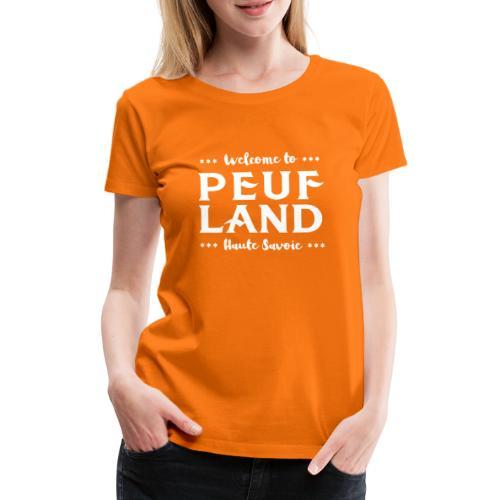 Peuf Land 74 - white - T-shirt Premium Femme