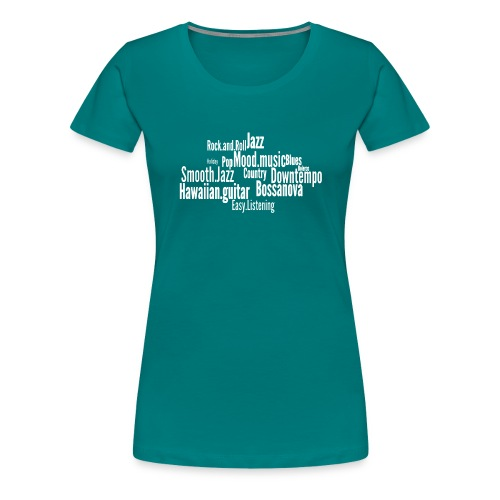 House Music Genres - Women's Premium T-Shirt