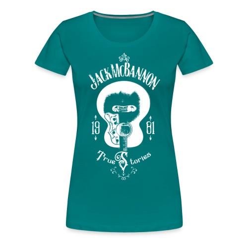 Jack McBannon - Guitar (True Stories) - Frauen Premium T-Shirt