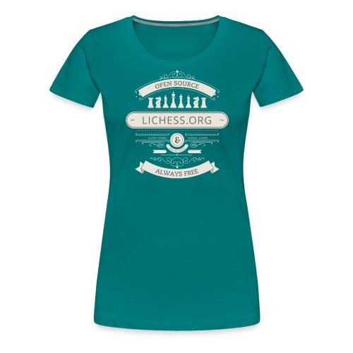 Vintage Lichess - Women's Premium T-Shirt