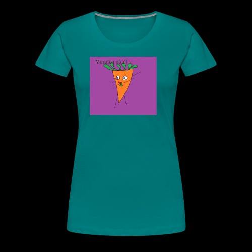 Yt logo - Premium-T-shirt dam