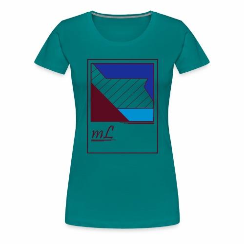 abstrakt, Lebe dein style - Frauen Premium T-Shirt