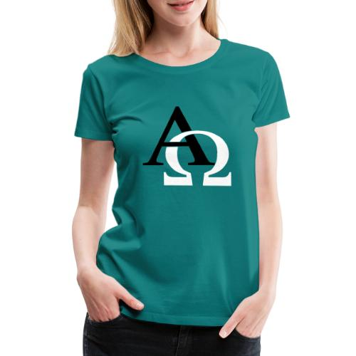 ALPHA AND OMEGA - Women's Premium T-Shirt