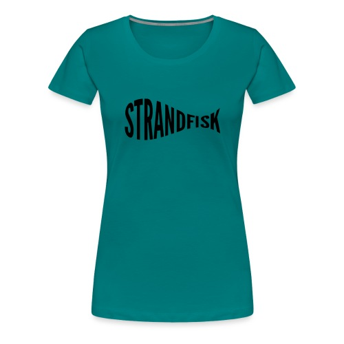 Fancy Strandfisk fisk - Premium T-skjorte for kvinner