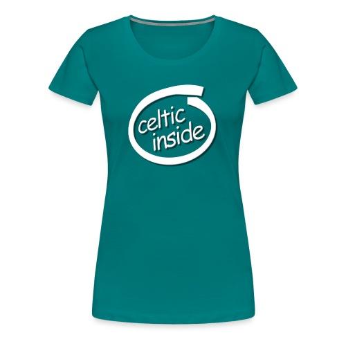 celtic inside - Maglietta Premium da donna