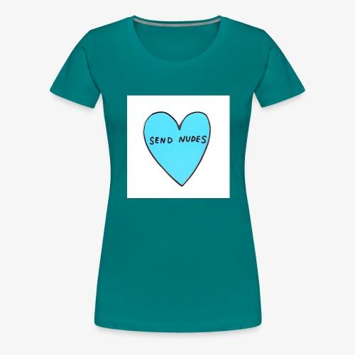 send nudes - Women's Premium T-Shirt