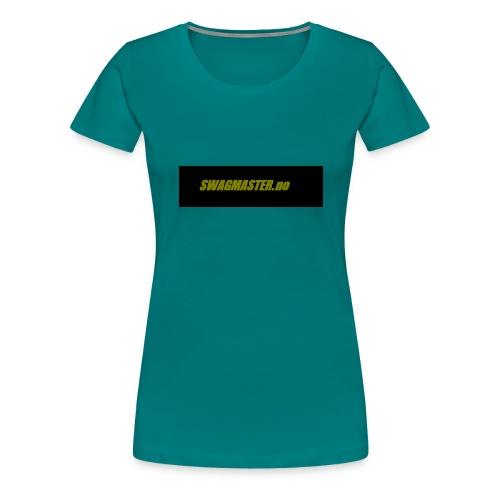 swagmaster - Premium T-skjorte for kvinner