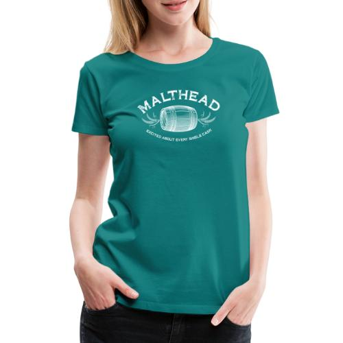 Malthead 01 Light - Frauen Premium T-Shirt