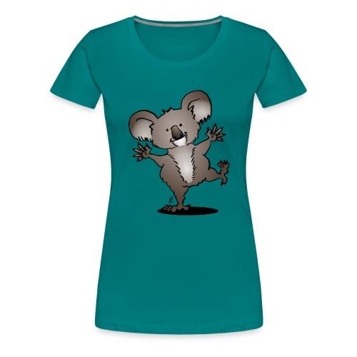 Dancing koala - Women's Premium T-Shirt
