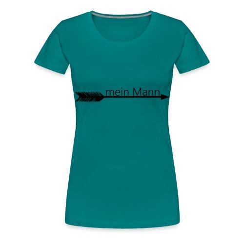 mein Mann 5 - Frauen Premium T-Shirt