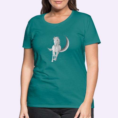 Sternenpferd cover - Frauen Premium T-Shirt