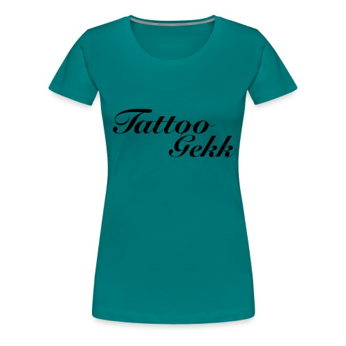 Tattoo gekk - Women's Premium T-Shirt