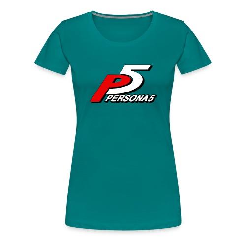 Persona 5 Mask - Naisten premium t-paita