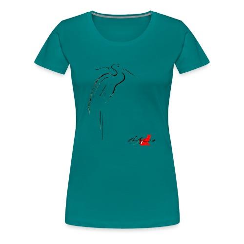 AIRONE - Maglietta Premium da donna